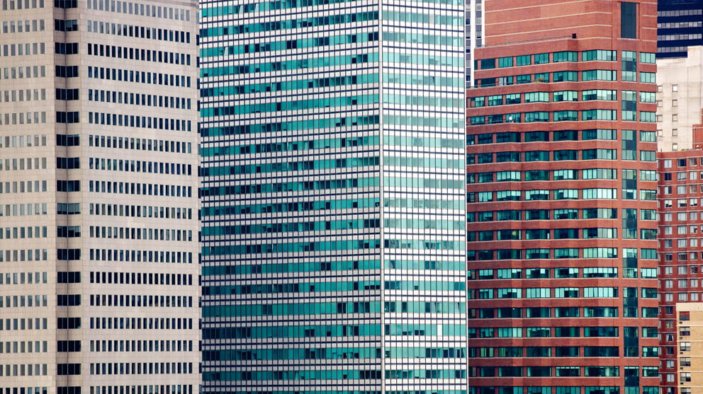 highrise office buildings